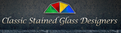 Classic Stained Glass logo